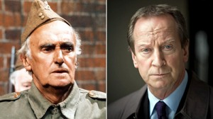 John Laurie (left) and Bill Paterson Bill Paterson, seen in TV's Outlander and 37 Days, will be Frazer, whose catchphrase was 'We're doomed'