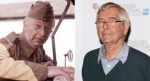 Clive Dunn (left) and Tom Courtenay Sir Tom Courtenay will attempt to fill the boots of Clive Dunn as Corporal Jones
