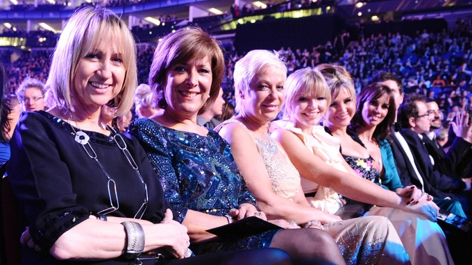 Lynda with fellow ITV Loose Women stars Carol McGiffin, Lynda Bellingham, Denise Welch, Kate Thornton, Leslie Garrett and Andrea McLean Credit: Ian West /PA Wire