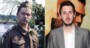Ian Lavender and Blake Harrison The Inbetweeners star Blake Harrison will take Ian Lavender's role as 'stupid boy' Private Pike