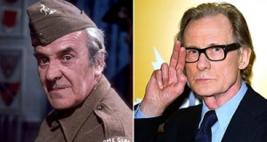John Le Mesurier (left) and Bill Nighy Bill Nighy will take the role of Sergeant Wilson, originally played by John Le Mesurier