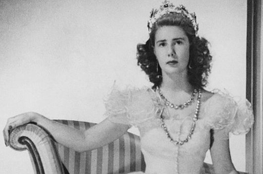 The Duchess of Alba pictured in 1947
