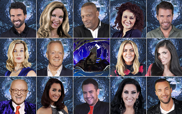 Celeb Big Bro 2015 Cast
