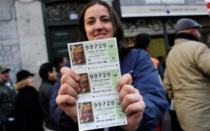 "€560 Million ""El Nino"" Lottery gives hope to millions of Spaniards."
