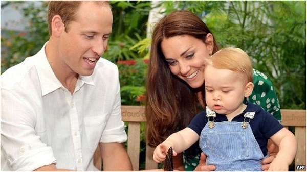 royal baby family