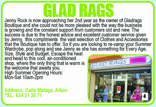 Albox Glad Rags