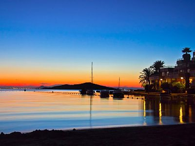 Mar Menor sunset