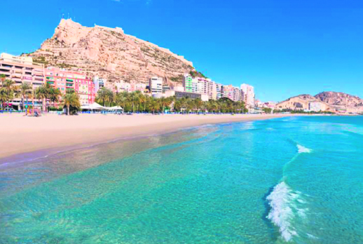 Top 10 Alicante White Coast