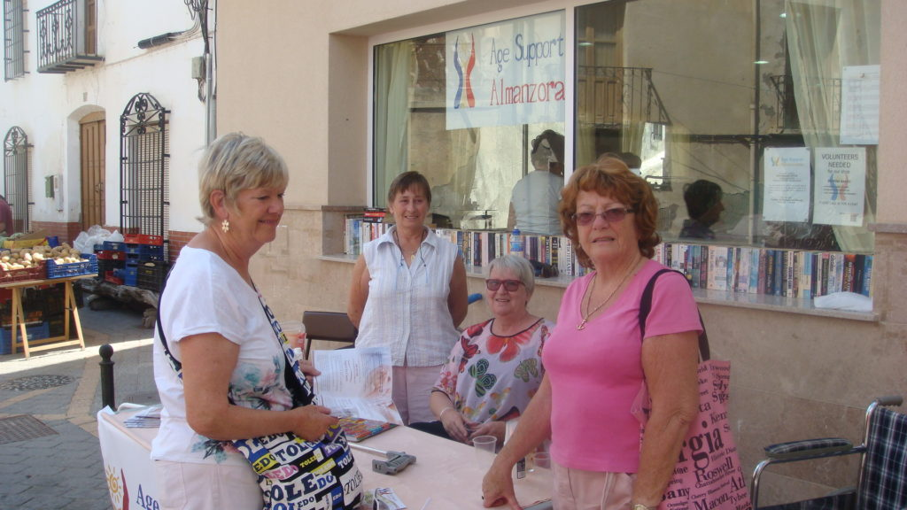 age support stall 003