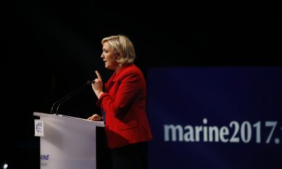 Lepen Down in Polls so Targets Immigration Boost