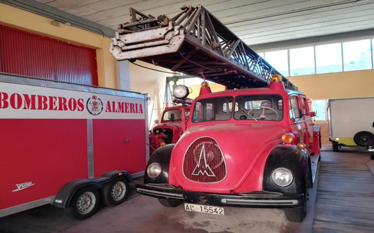 New life for Almeria's fire engines